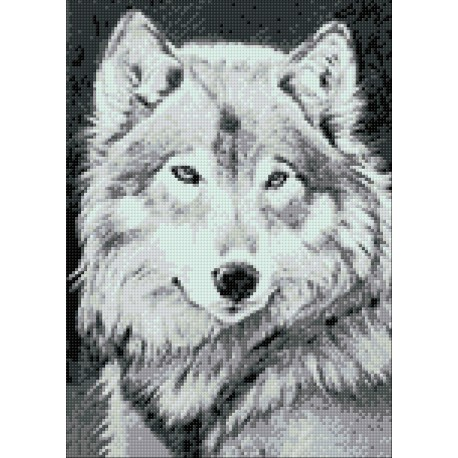 Diamond Painting Wolf
