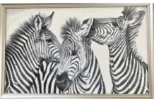 Diamond Painting Zebras