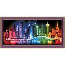 Diamond Painting Skyline