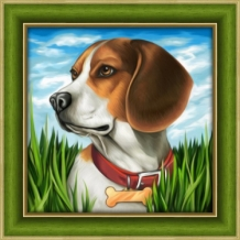 Diamond Painting Beagle