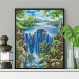 Diamond Painting Waterval