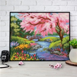 Diamond Painting Aan de Rivier