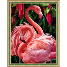 Diamond Painting Flamingos