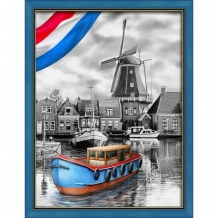 Diamond Painting  Hollandse Rivier