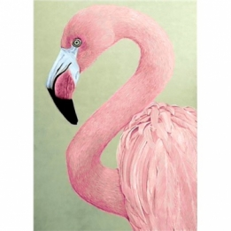 Diamond Painting Roze Flamingo