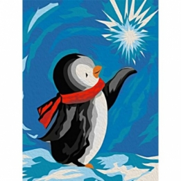 Diamond Painting Pinguin